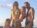 Carina and family in Mauritius 2013