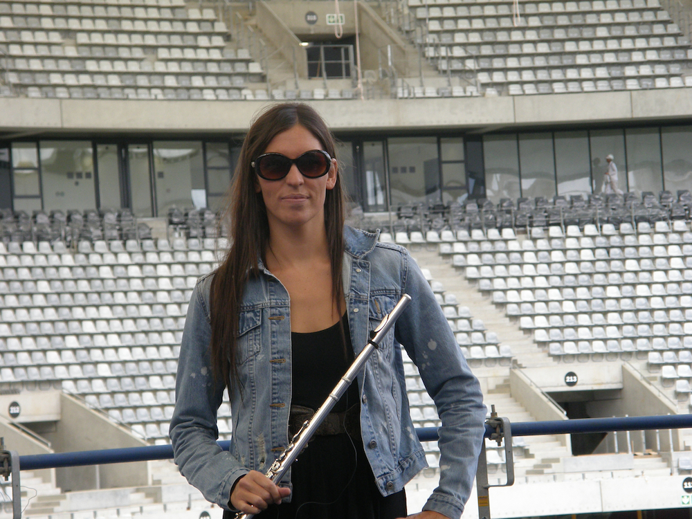 Sound check @ Cape Town stadium 2010