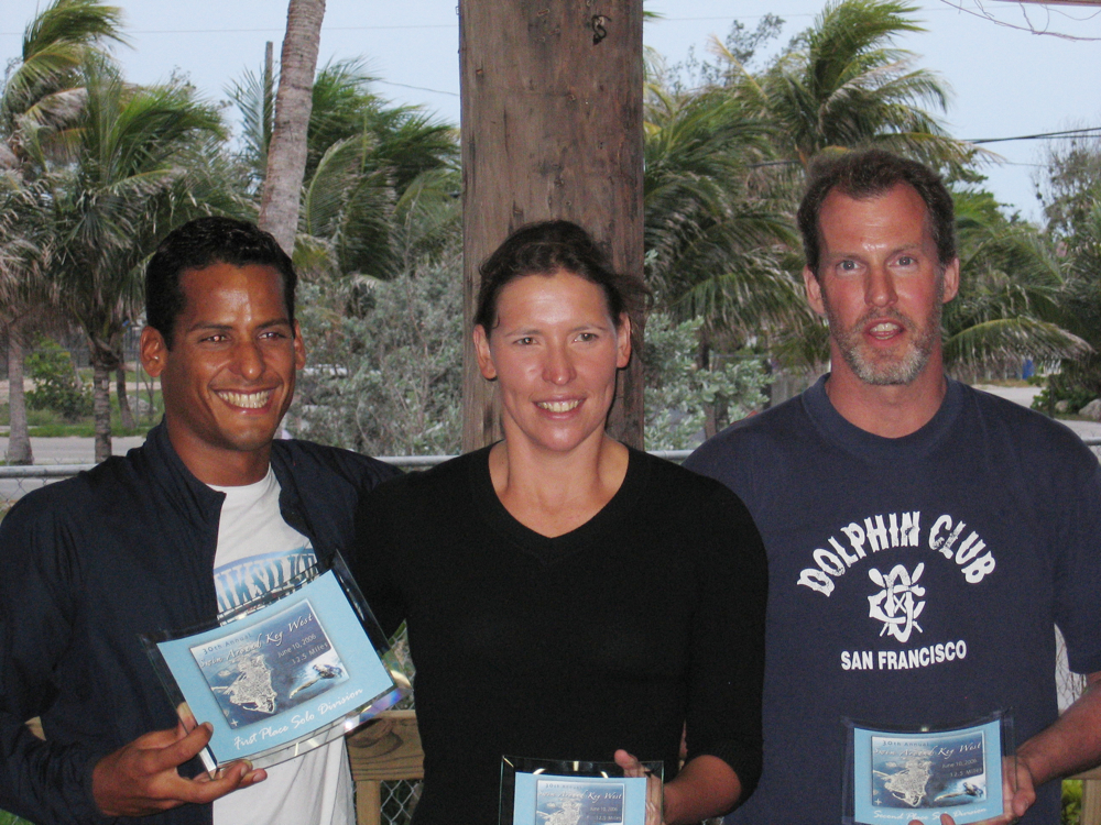 2006 Race Around Key West (20km) - first three