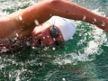 Carina swims in Italy 2006