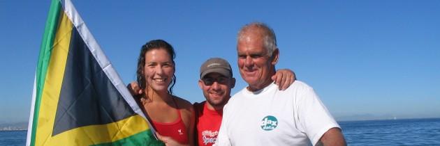 Carina breaks round Robben Island record