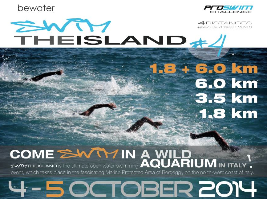 5 Oct: Carina to attempt a triple @ Italy's Swim The Island for LFCT