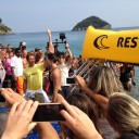 Carina swims 18km for Hope at Italy's premiere open water event