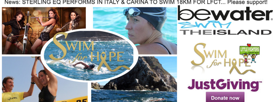 Swim The Island 18km – Support on Justgiving.com
