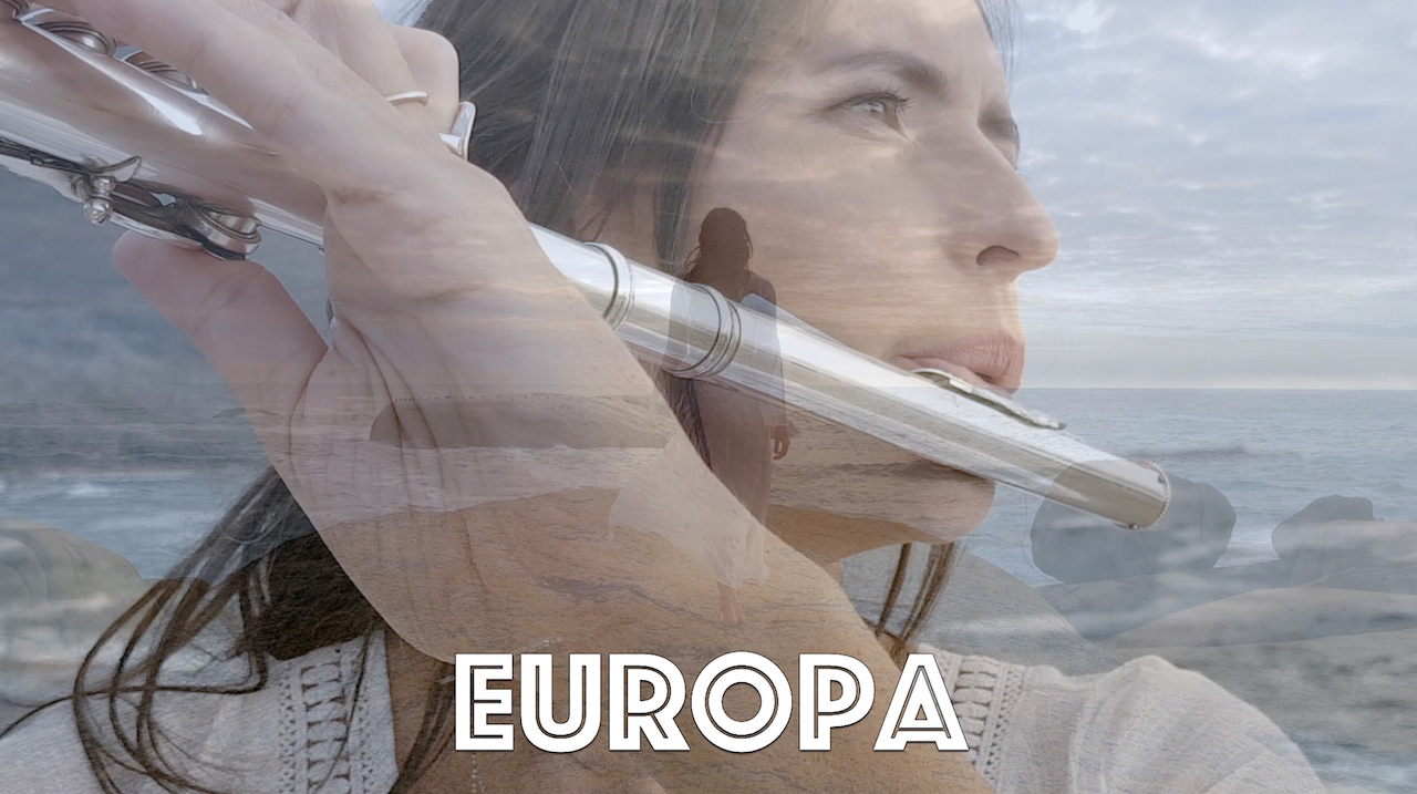 Europa performed on slide flute