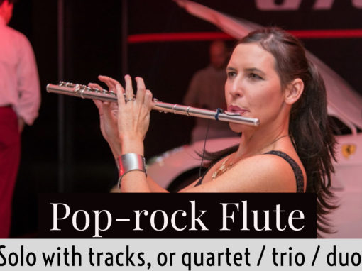 Pop-rock flute (solo with tracks)