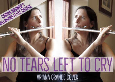 No Tears Left To Cry (Ariana Grande) on Flute