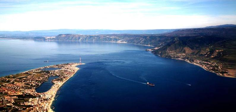 Image result for straits of messina photos