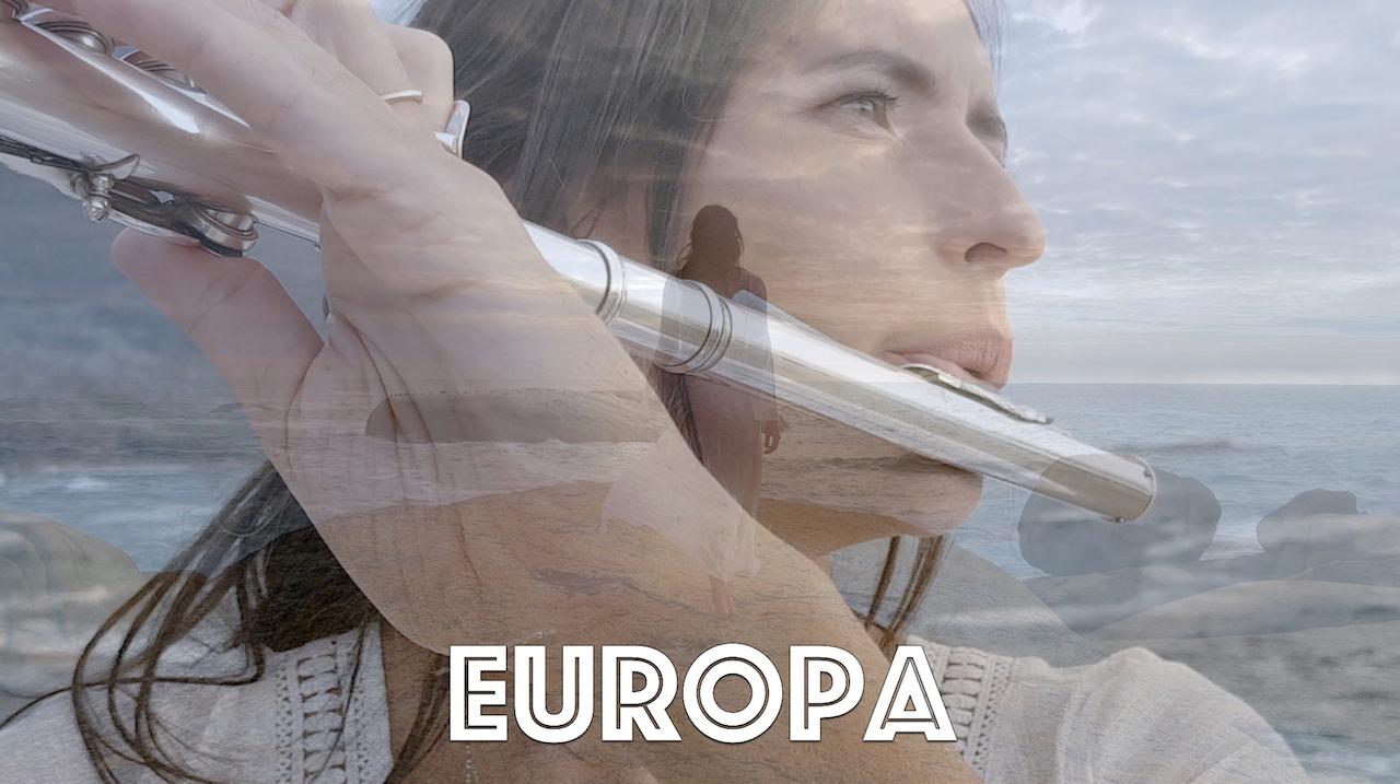 Europa (Santana) on slide flute