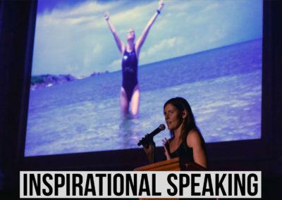 Inspirational speaker